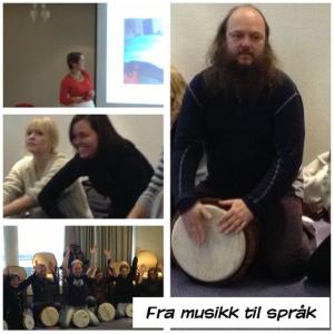 Fra musikk til språk i Bergen
