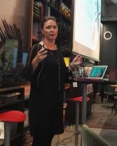 Nora på Litteraturhuset i Trondheim september 2018